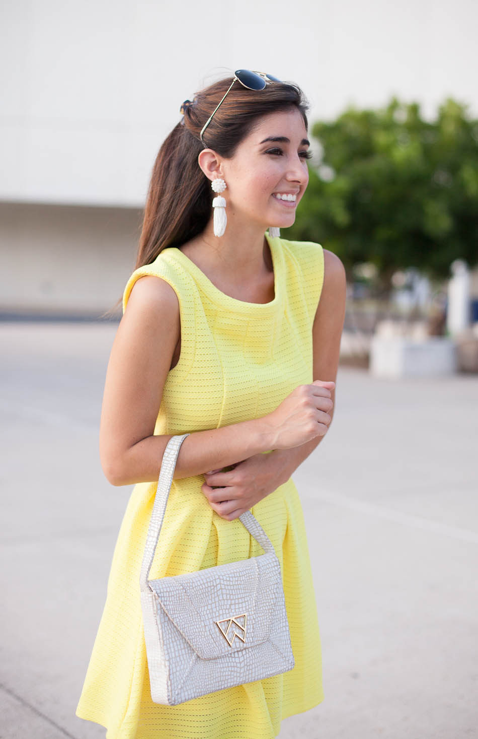 The Little Yellow Dress | The Darling Detail