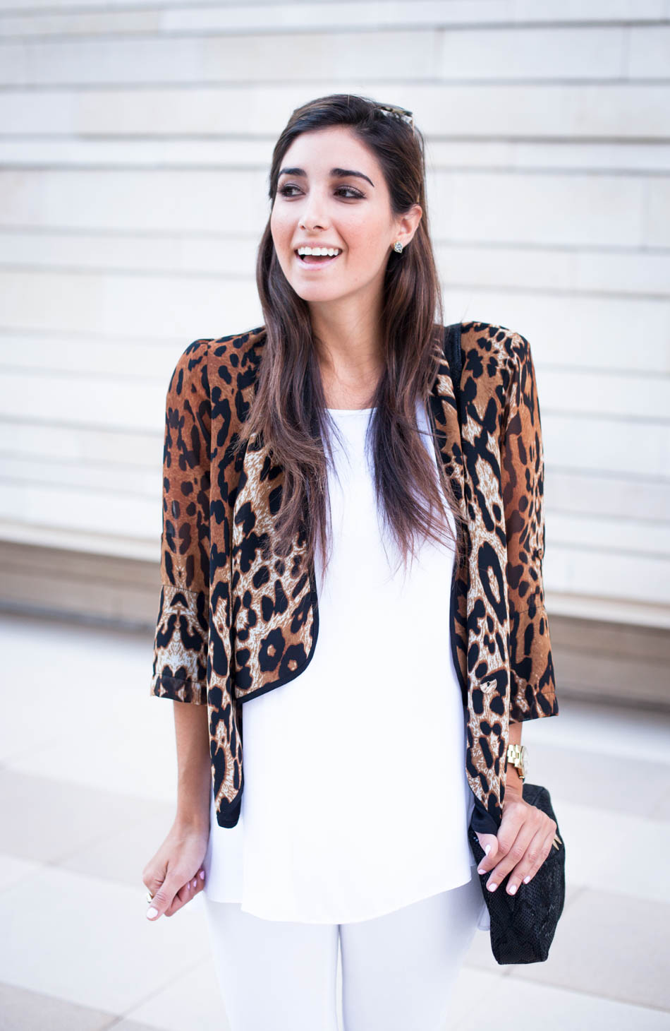 Love this pop of cheetah for #Fall !