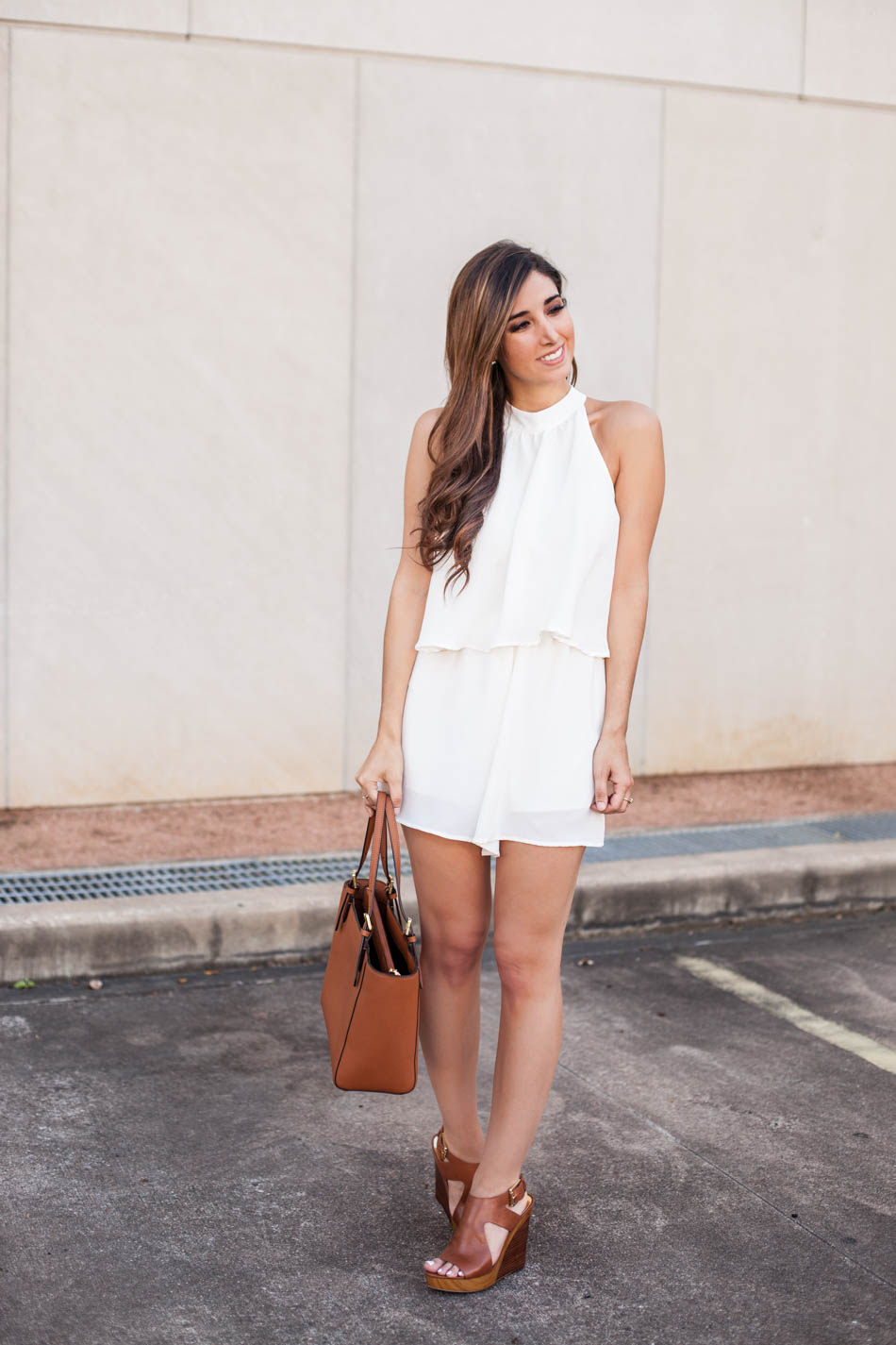 how to style a white romper