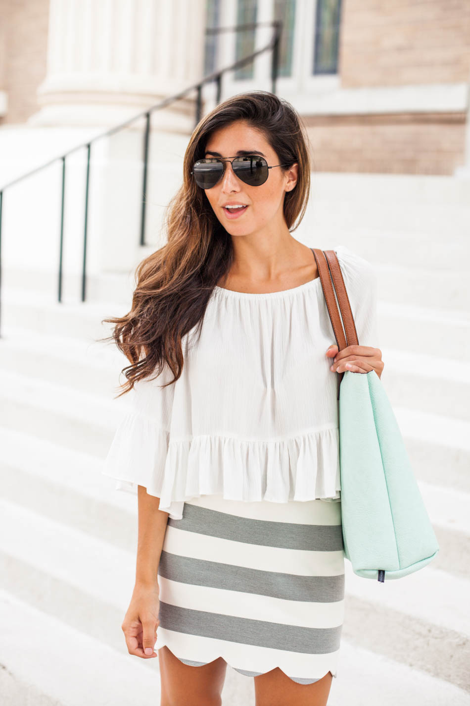 cute and casual summer outfit
