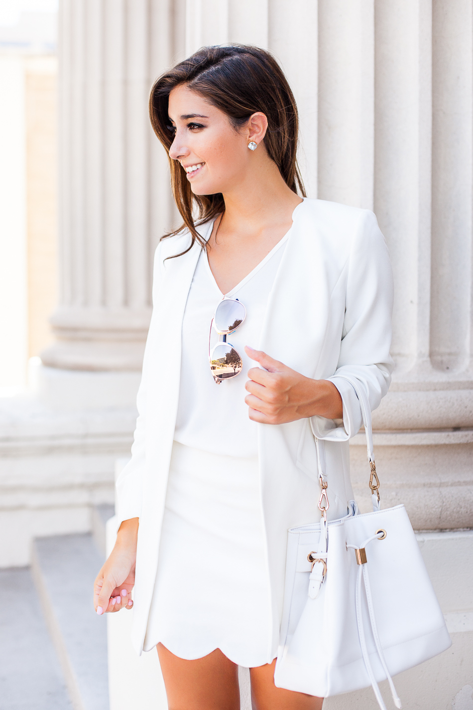 white summer chic