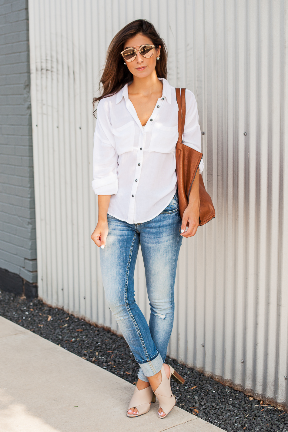 effortless chic outfit
