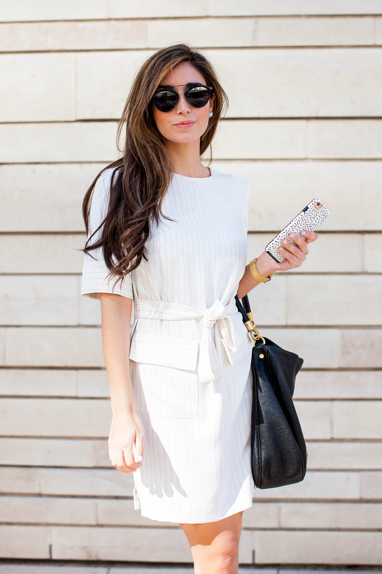 The Darling Detail wearing Dior So Real Sunglasses