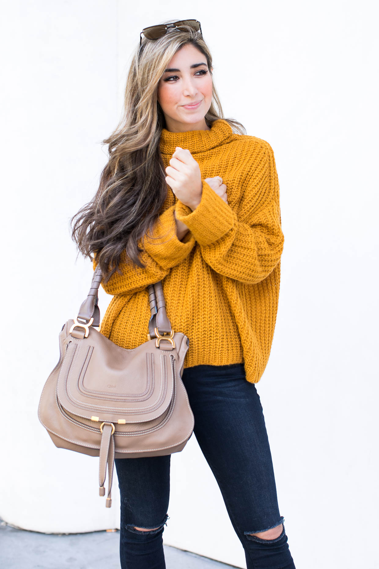 e354bf44d The Oversized Sweater - The Darling Detail