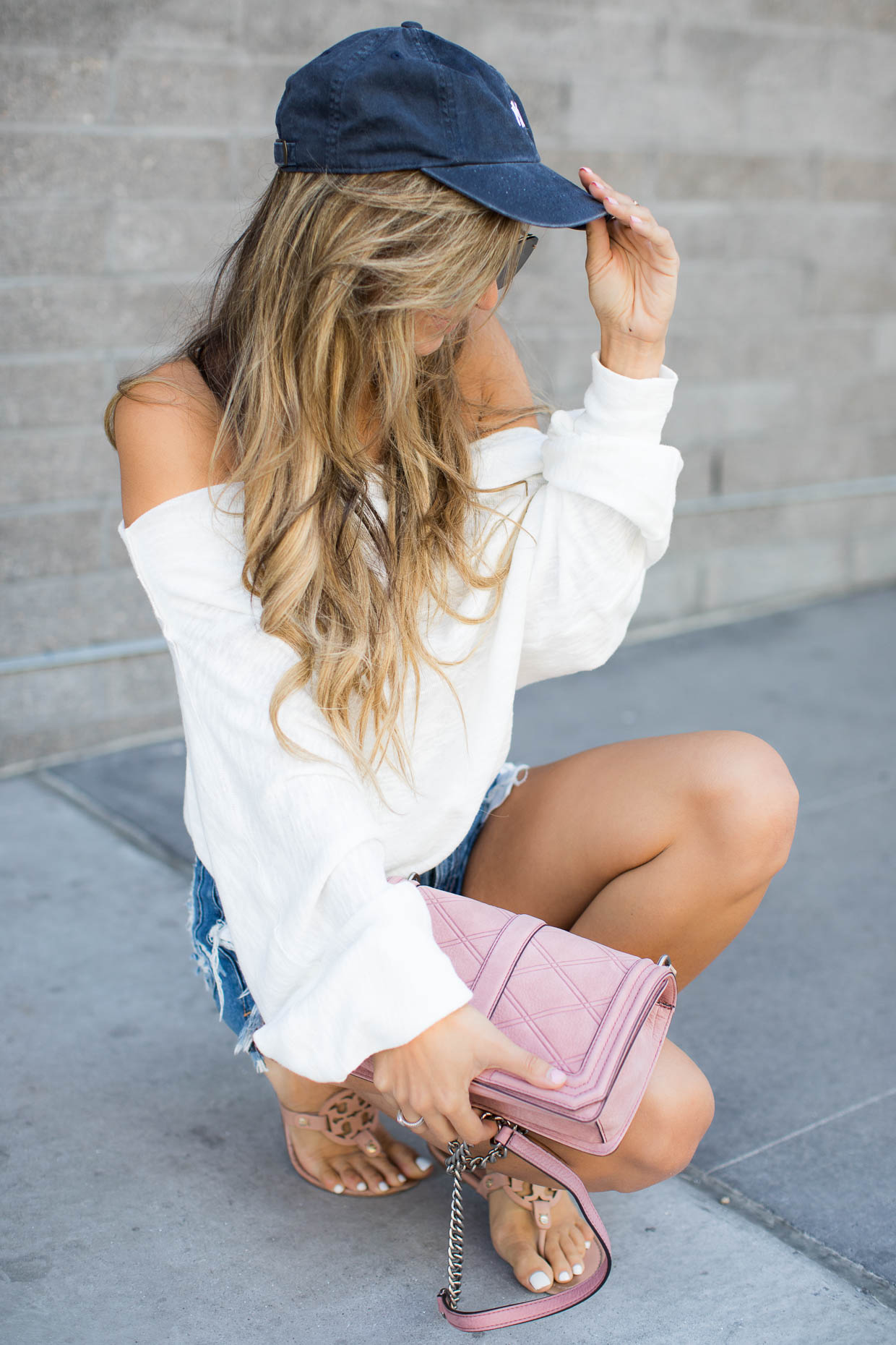 free people slouchy tee