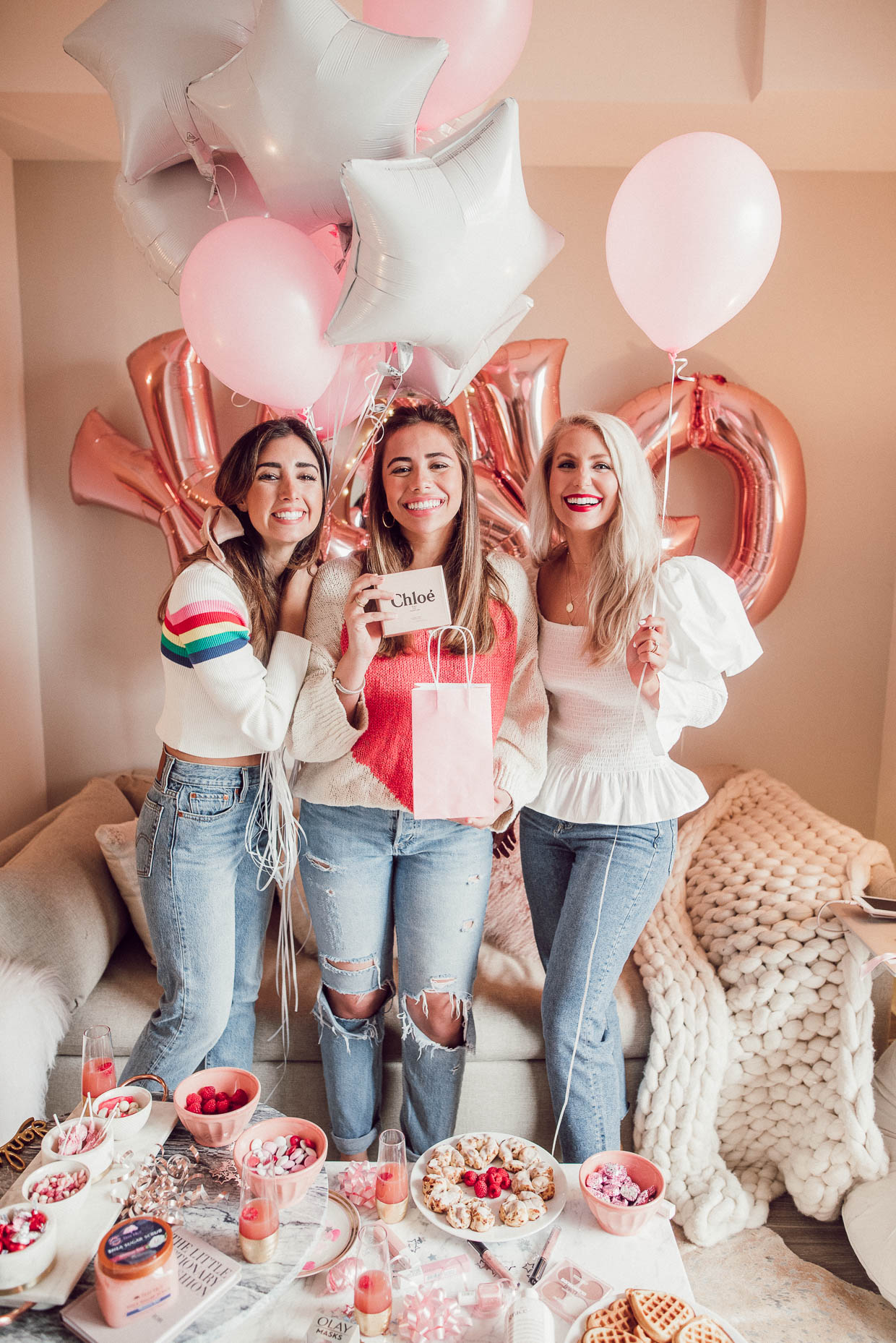 valentine's galentine's how to throw party